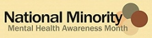 National minority Mental-health-awareness-month July