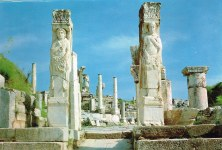 Archeological site Ephesus at the time of Marcus Ampe's 1992 visit