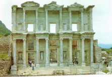 Ephesus, library of Celsus - Photo by Marcus Ampe