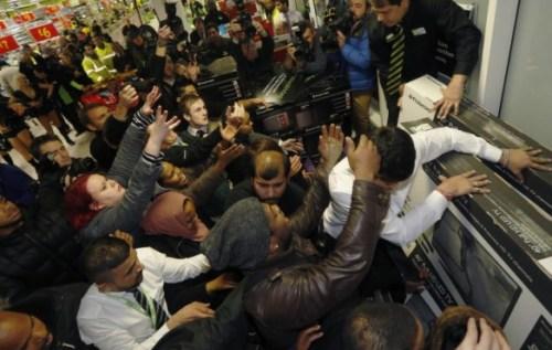 Black Friday Riots at ASDA (Wallmart)