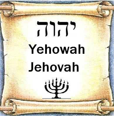 God's Name on the Scrolls - Gods Naam op de Schriftrollen