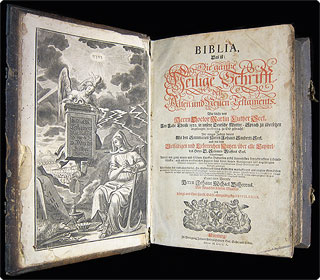 Luther Bibel 1710