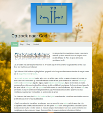 Op zoek naar God - Homepage 20160214