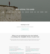 Relating to God (Christadelphian Weebly site) by the opening 2016 March 9